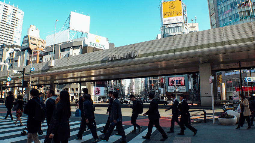 Roppongi Dori เที่ยวโตเกียว
