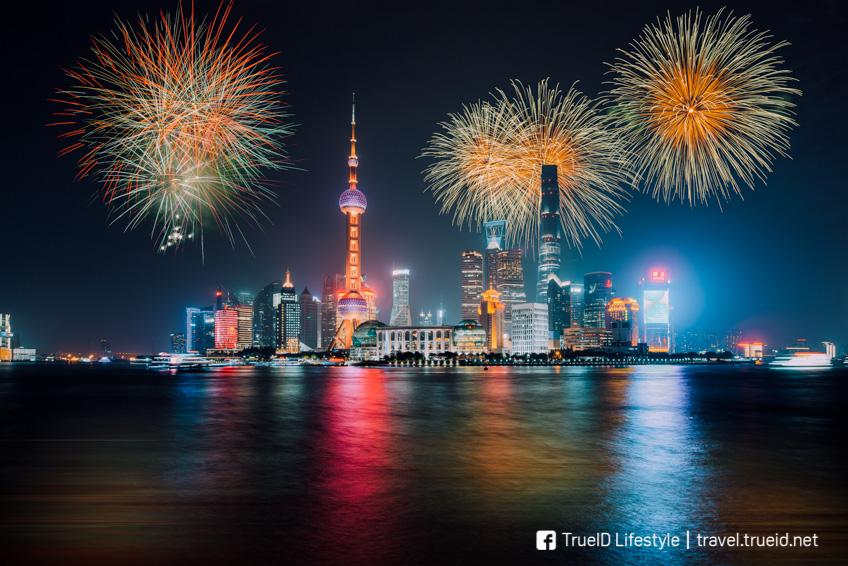 เซี่ยงไฮ้ ปีใหม่ 2019