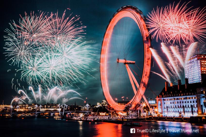 London  ปีใหม่ 2019