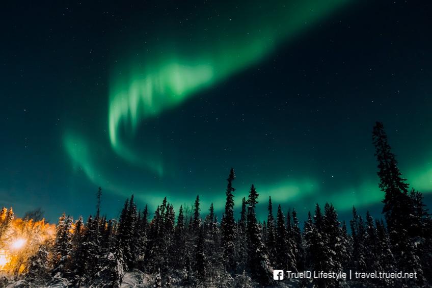 Murmansk  Aurora แสงเหนือ