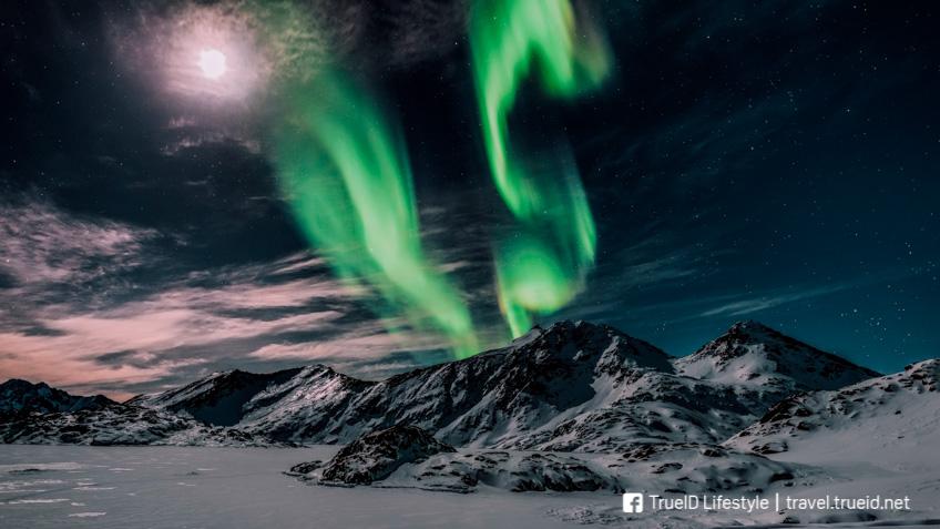 แสงเหนือ Greenland Aurora