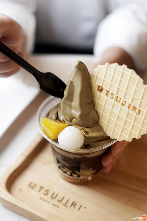 Tsujiri คาเฟ่ ร้านชาเขียว สยามพารากอน