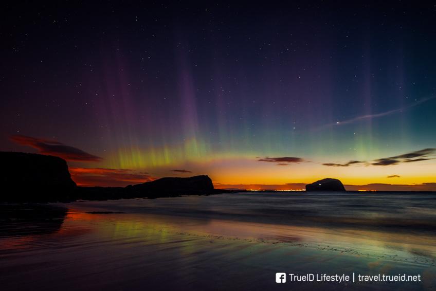 แสงเหนือ Scotland Aurora