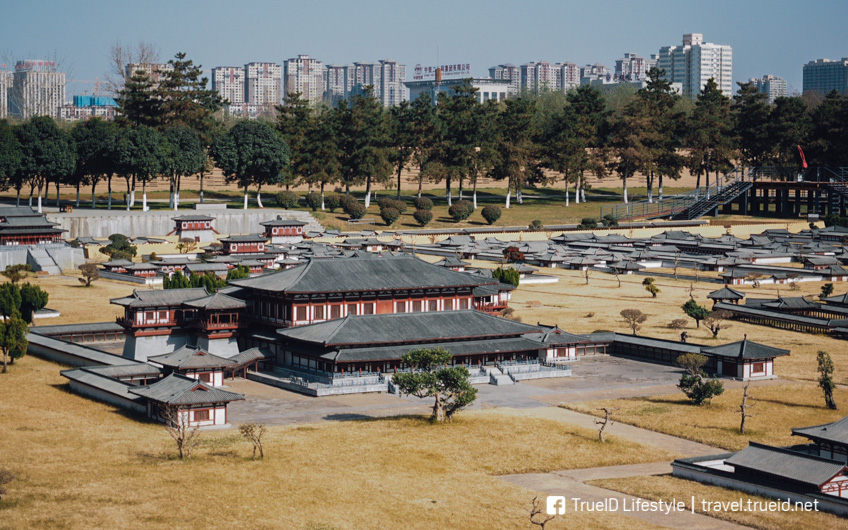 เที่ยวเมืองจีน พระราชวังต้าหมิงกง ซีอาน