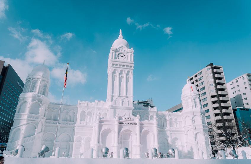 ที่เที่ยวซัปโปโร ญี่ปุ่น Sapporo Snow Festival