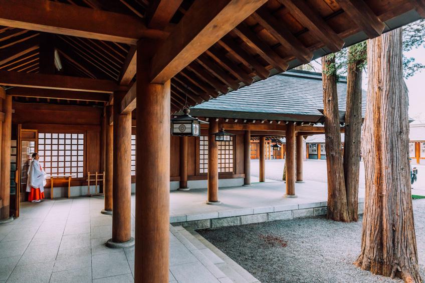 ที่เที่ยวซัปโปโร ญี่ปุ่น Hokkaido Shrine