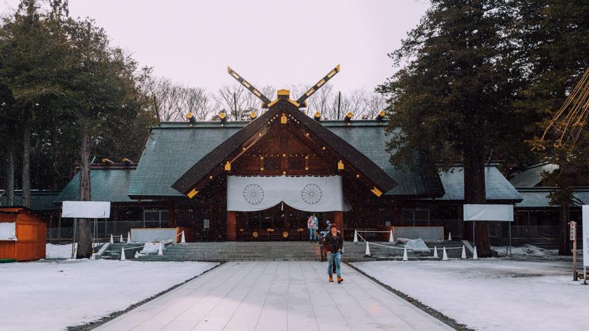 Hokkaido Shrine ที่เที่ยวซัปโปโร ญี่ปุ่น