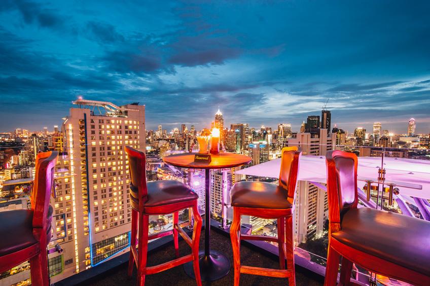 เที่ยวปีใหม่ กรุงเทพ rooftop