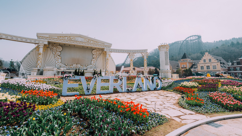 Everland เที่ยวเกาหลี