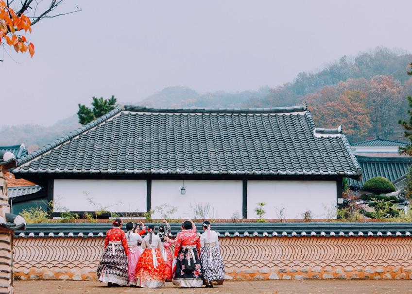หมู่บ้านชอนจู ฮันอก เที่ยวเกาหลี