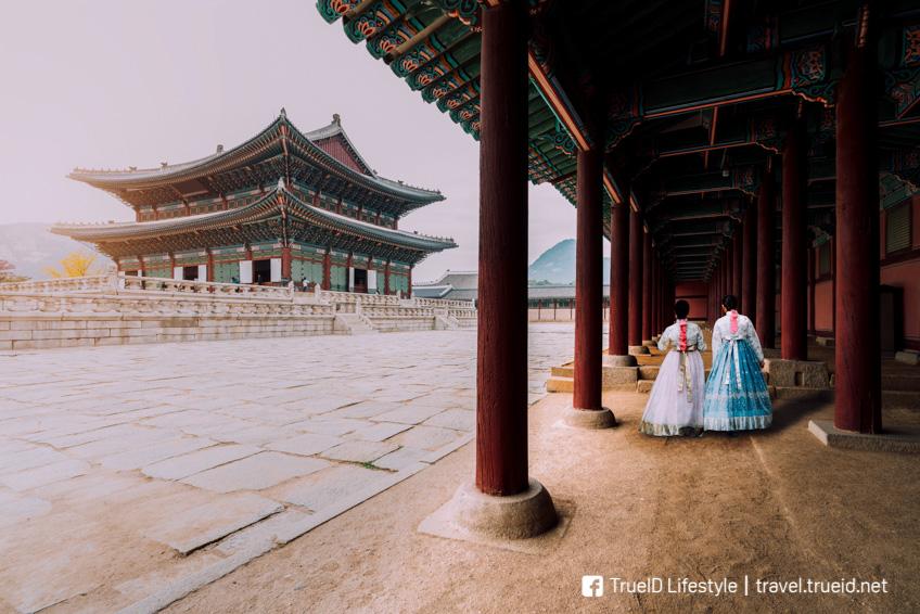 พระราชวังเคียงบกกุง เที่ยวเกาหลี