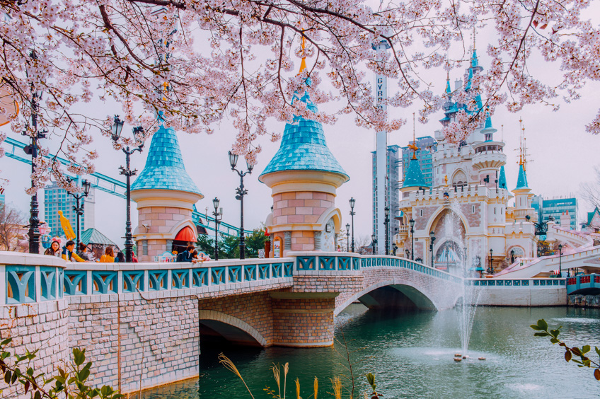 Lotte World เที่ยวเกาหลี
