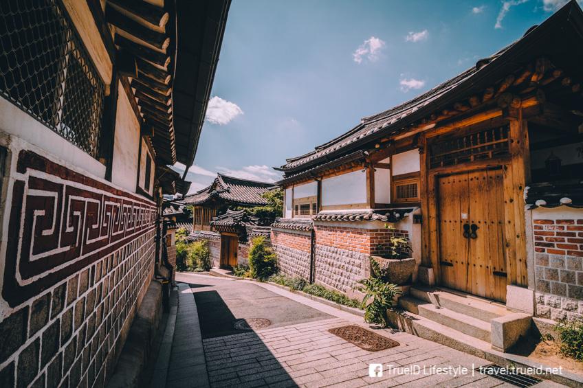 หมู่บ้านบุกชอนฮันอก เที่ยวเกาหลี