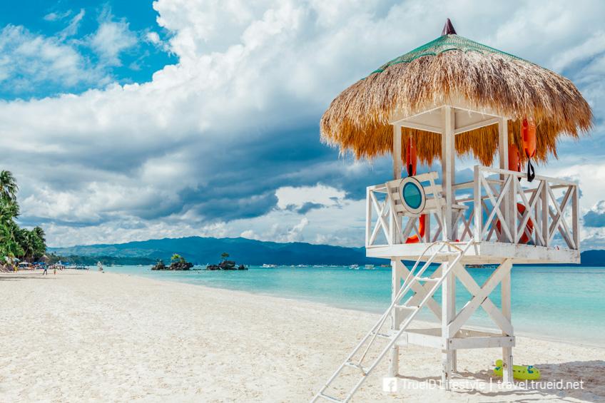 Boracay ฟิลิปปินส์ หาดที่ดีที่สุดในโลก