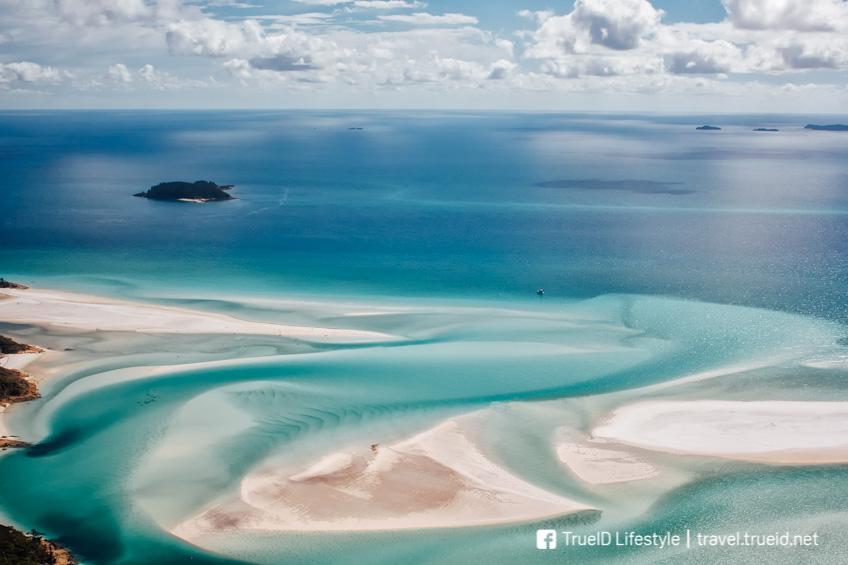 Whitehaven Beach ทะเลที่ดีที่สุดในโลก