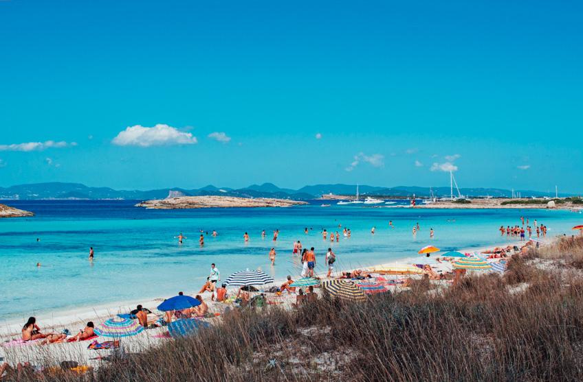 Playa de Ses Illetes ทะเลที่ดีที่สุดในโลก