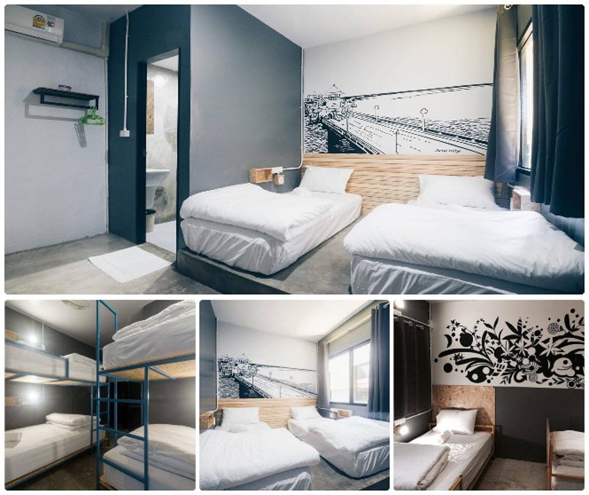 ที่พักเมืองเก่าภูเก็ต BED Hostel Phuket