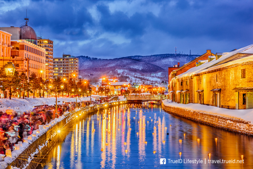Otaru snow light