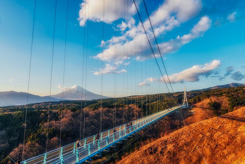 Mishima Sky Walk จุดถ่ายรูปสวย ฟูจิ