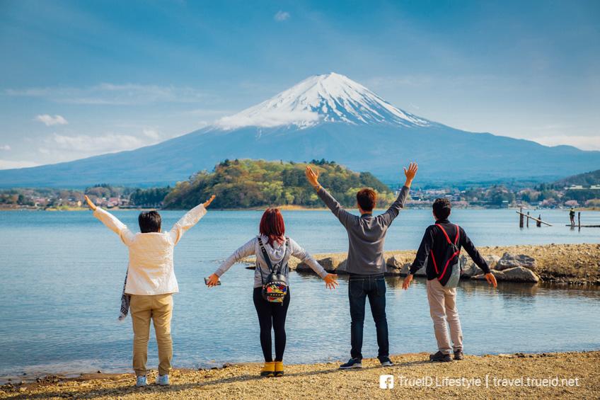 จุดถ่ายรูปสวย ฟูจิ Lake Kawaguchiko