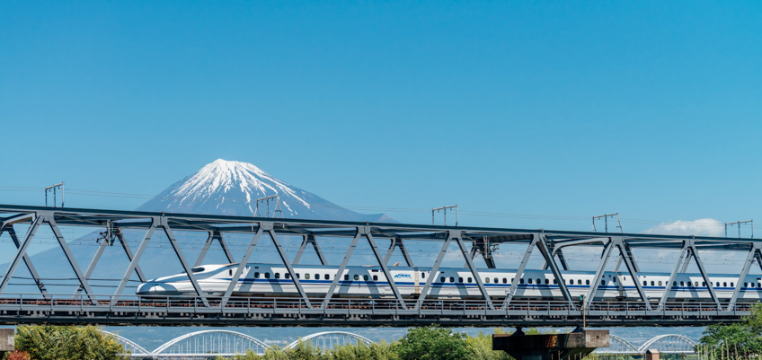 จุดถ่ายรูปสวย ฟูจิ Shin-Fuji Station