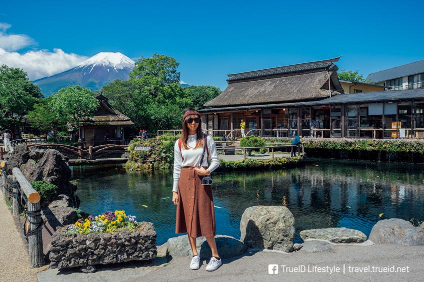 Oshino Hakkai จุดถ่ายรูปสวย ฟูจิ