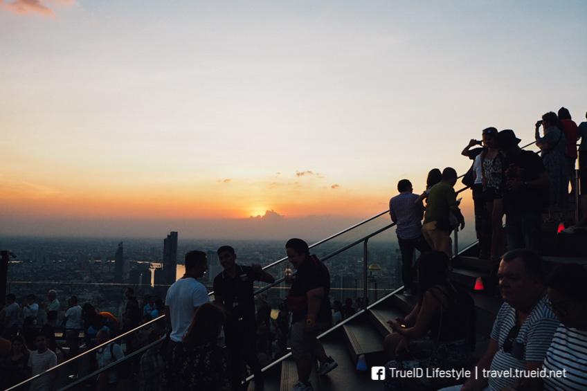 Mahanakhon Skywalk ที่เที่ยวใหม่กรุงเทพ วิวดาดฟ้า