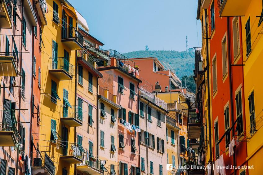เมืองสีสวย Manarola อิตาลี
