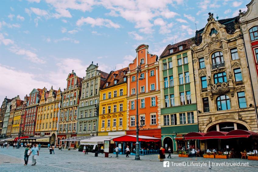 เมืองสีสวย โปแลนด์