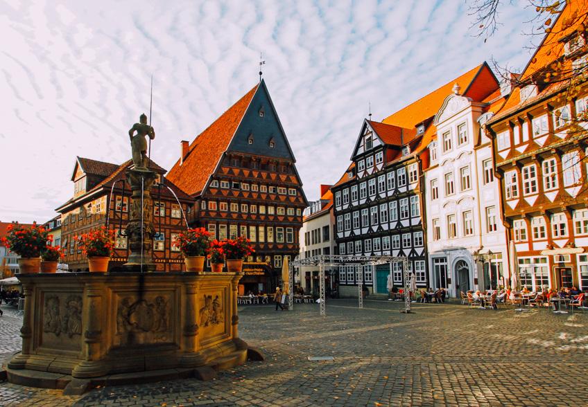 Hildesheim เมืองยุโรป แฮร์รี่ พ็อตเตอร์