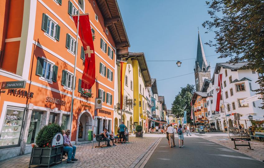 Kitzbühel เมืองยุโรป