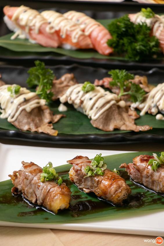 Jaiko Sushi Buffet บุฟเฟ่ต์อาหารญี่ปุ่น แซลมอน