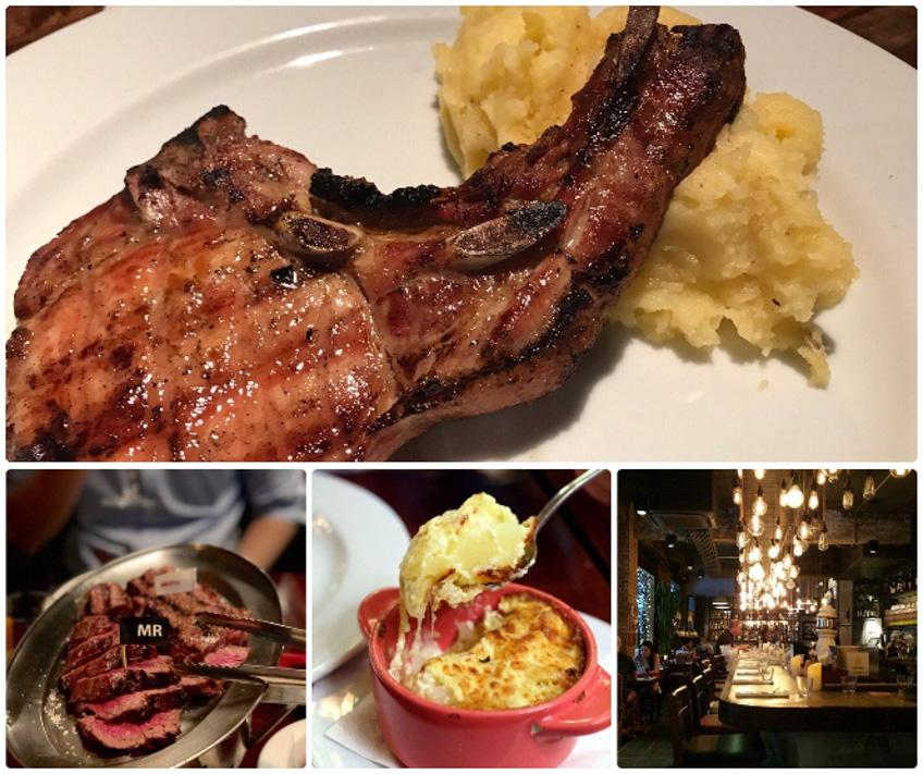 ร้านสเต็ก ร้านบรรยากาศดี El Gaucho Argentinian Steakhouse