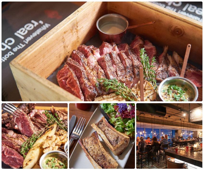 ร้านสเต็ก ร้านบรรยากาศดี Scarlett Wine Bar & Restaurant