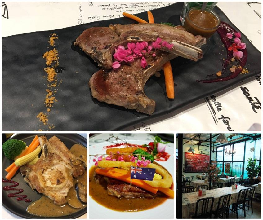 ร้านสเต็ก ร้านบรรยากาศดี Kritsada Steak House