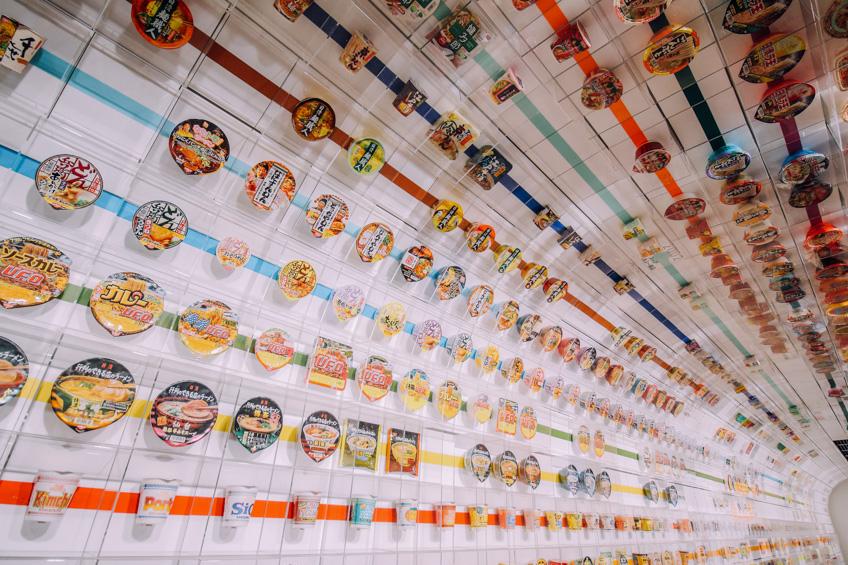 พิพิธภัณฑ์บะหมี่สำเร็จรูป ที่เที่ยวโอซาก้า สถานีรถไฟในญี่ปุ่น