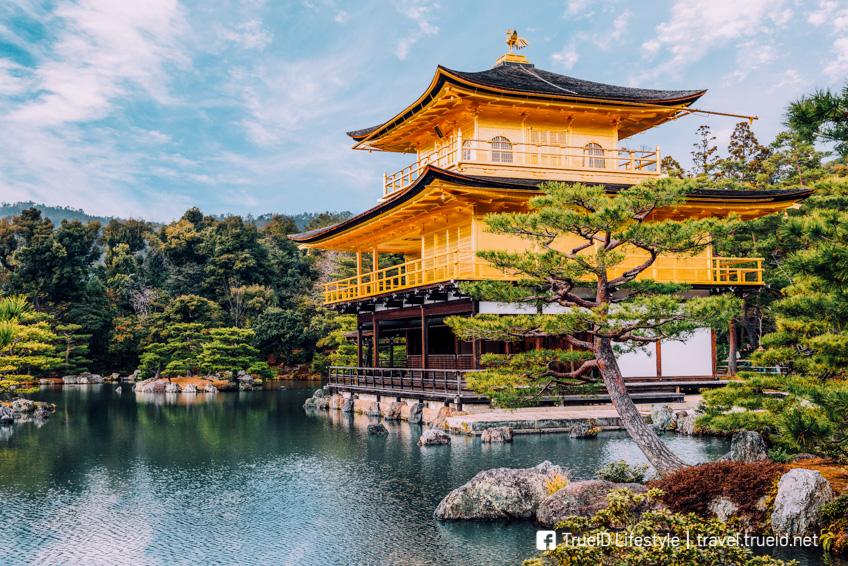 วัดคินคะคุจิ ที่เที่ยวเกียวโต