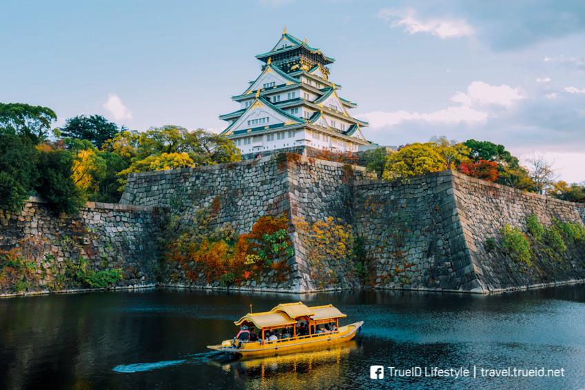 ปราสาทโอซาก้า ที่เที่ยวโอซาก้า สถานีรถไฟในญี่ปุ่น