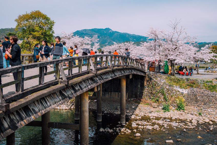 สะพานโทเง็ตสึเคียว ที่เที่ยวเกียวโต