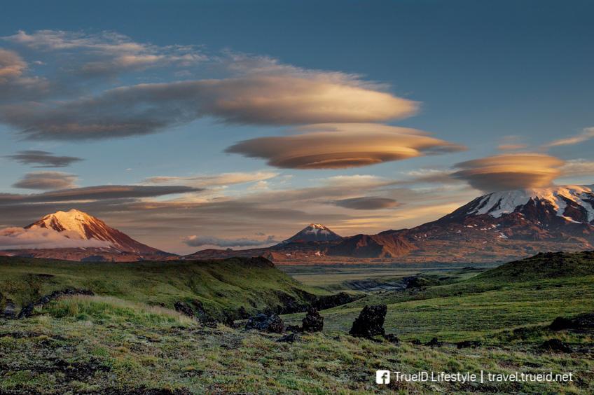 ปรากฏการณ์แปลก Lenticular Clouds