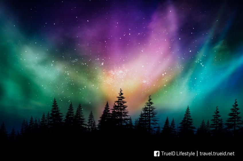 ปรากฏการณ์ธรรมชาติ แสงเหนือ