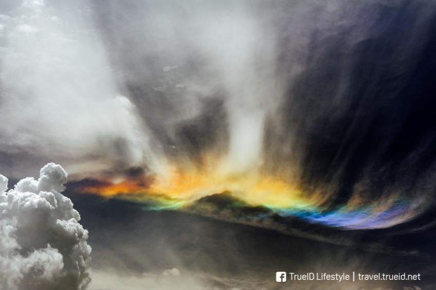 ปรากฏการณ์ธรรมชาติ  Fire Rainbows