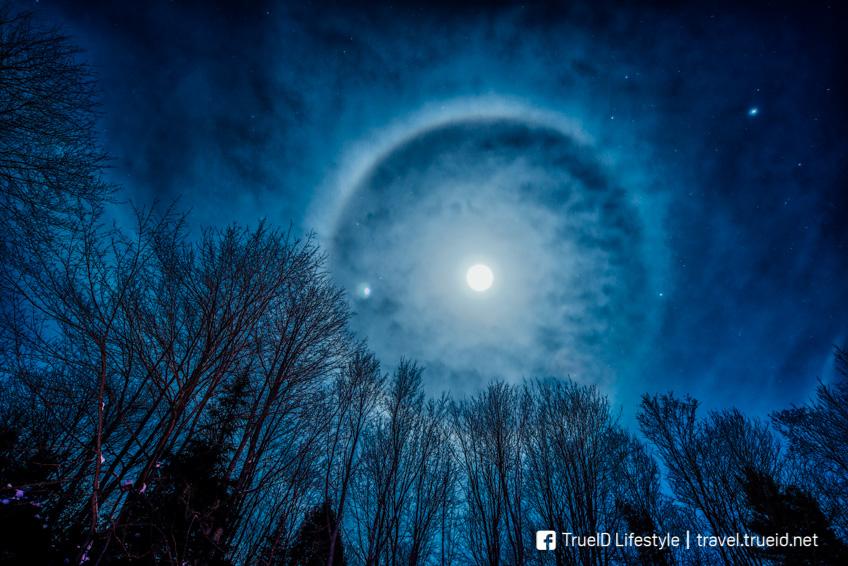 ปรากฏการณ์ธรรมชาติ Moonbow