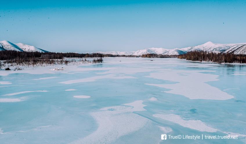 Oymyakon รัสเซีย หนาวที่สุดในโลก