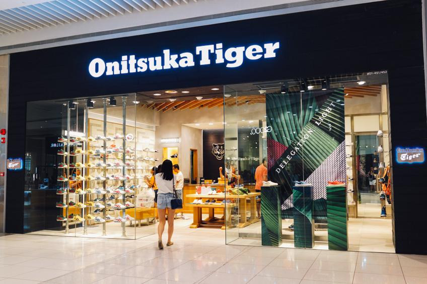 Onitsuka Tiger Singpore ย่านช้อปปิ้ง สิงคโปร์