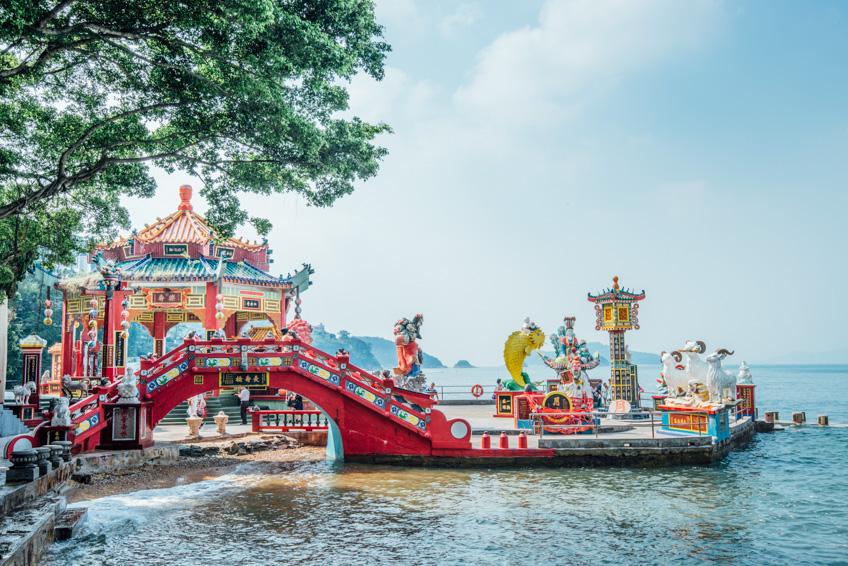 Kwun Yam Shrine Repulse Bay ไหว้พระ ฮ่องกง วัดดัง