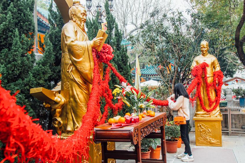 Wong Tai Sin Temple ไหว้พระ ฮ่องกง วัดดัง