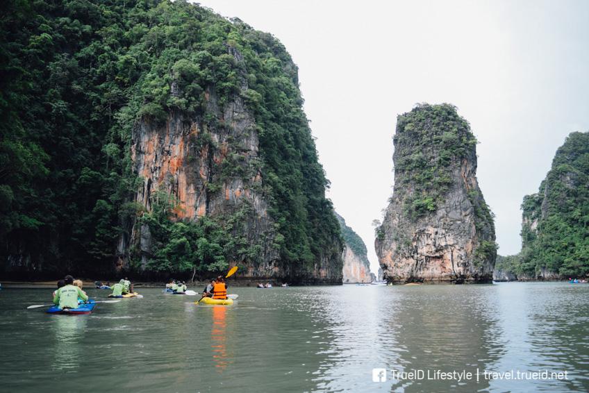 เกาะห้อง เที่ยวพังงา เกาะสวยในไทย