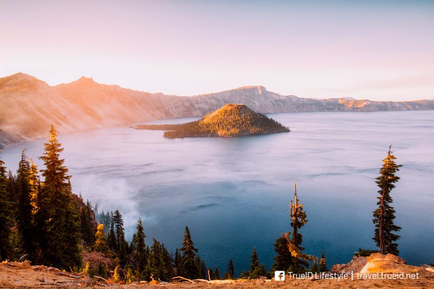 ที่เที่ยวอเมริกา Crater Lake
