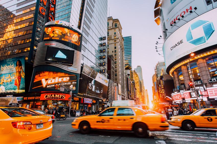 Times Square ที่เที่ยวอเมริกา